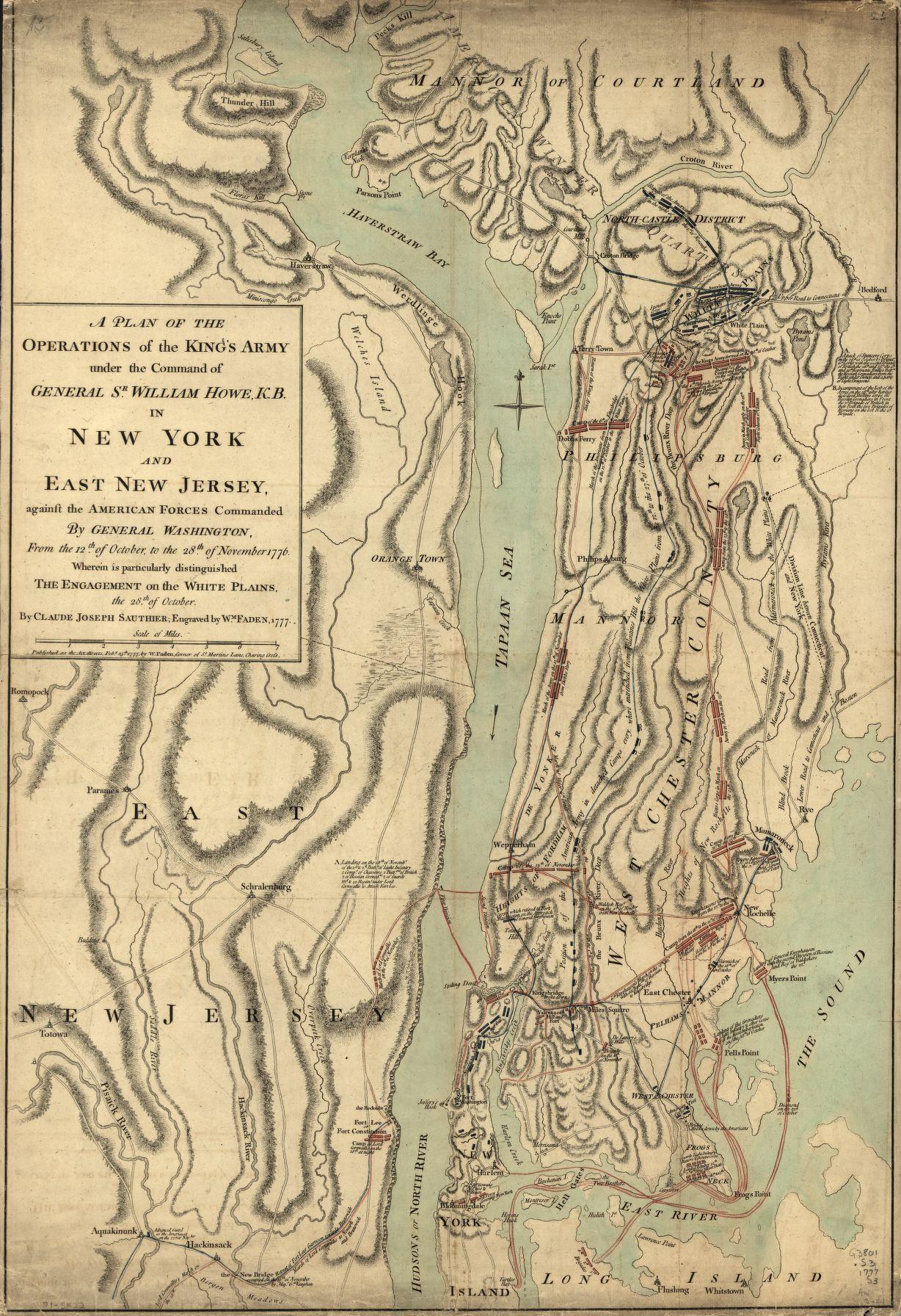 Battle Of White Plains George Washington S Mount Vernon