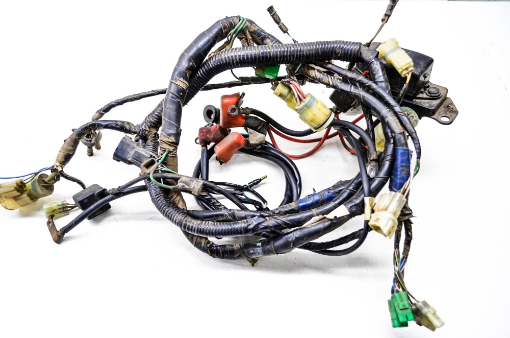 medium resolution of 00 honda foreman 400 4x4 wire harness electrical wiring trx400fw ebay honda foreman lift kit honda foreman 400 wiring