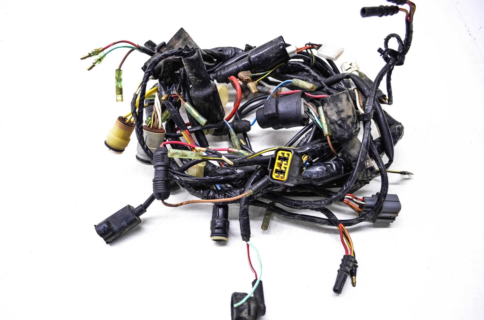 hight resolution of 01 kawasaki prairie 400 4x4 wire harness electrical wiring kvf400 ebay 1998 kawasaki prairie 400 wiring