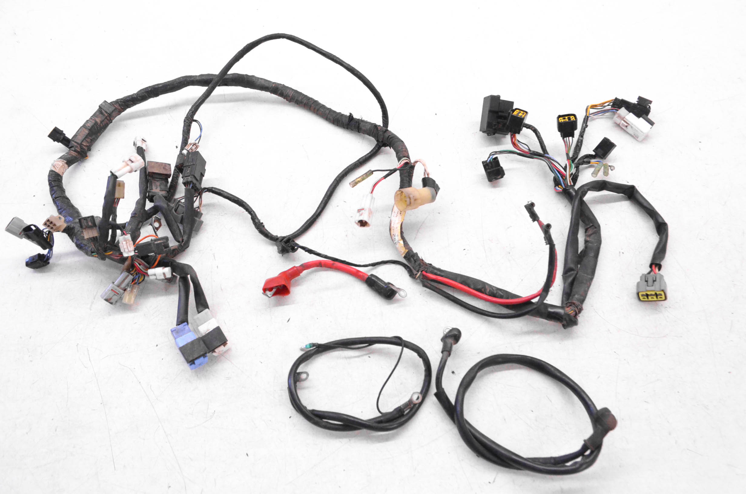 08 Yamaha Big Bear 350 Wire Harness Electrical Wiring