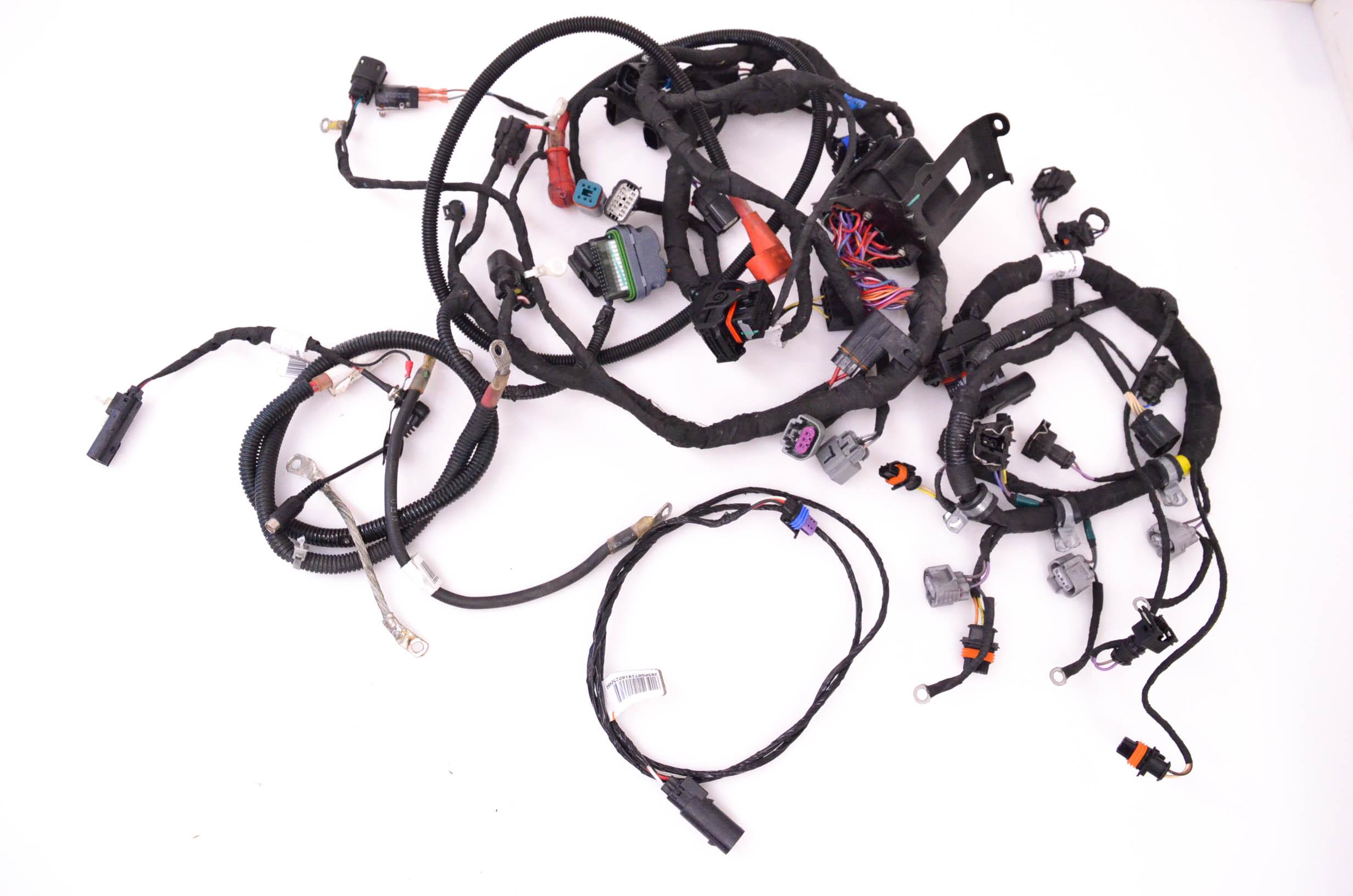 19 Ski Doo Renegade Adrenaline 900 Ace Wire Harness