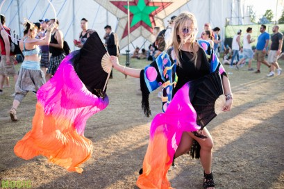 Festival Goers at Bestival