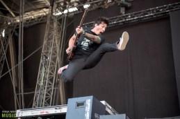 Pierce The Veil at Nova Rock 2017