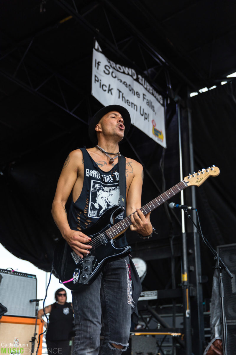 Gallery: Barb Wire Dolls at Warped Tour, Mansfield, MA 7/12