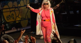 Debbie Harry of Blondie at House of Vans