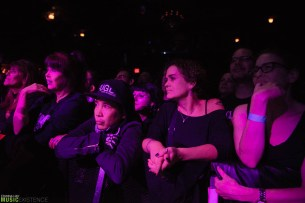 During The Damned at Irving Plaza