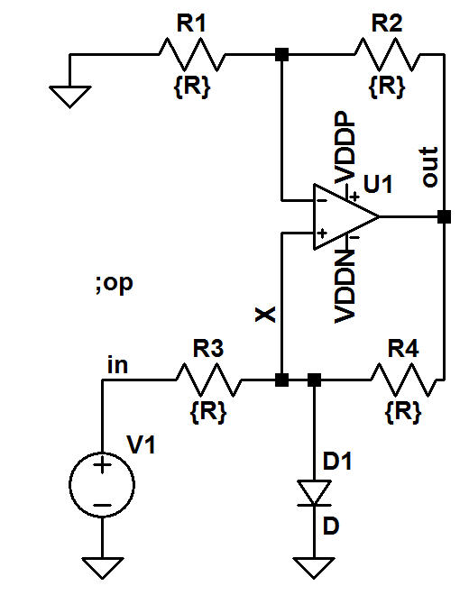 Solved: For The Circuit Shown, Derive An Equation For Vout