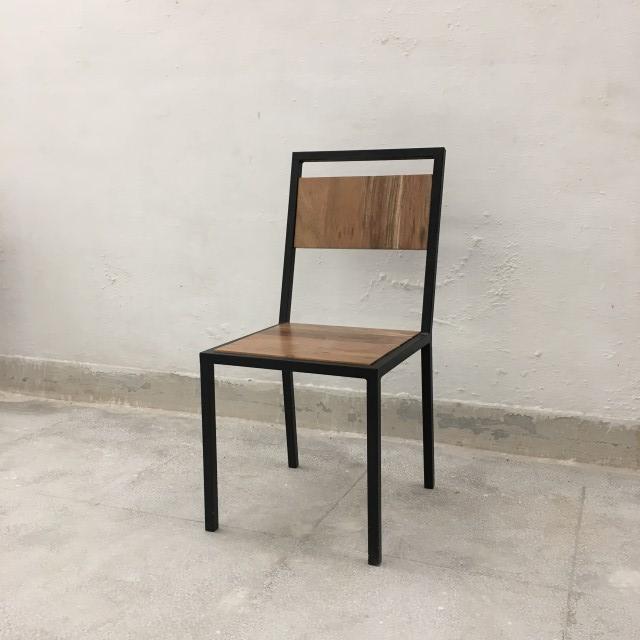 Industrial Dining Chair Nadeau Marietta