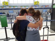 Good-byes are excruciating