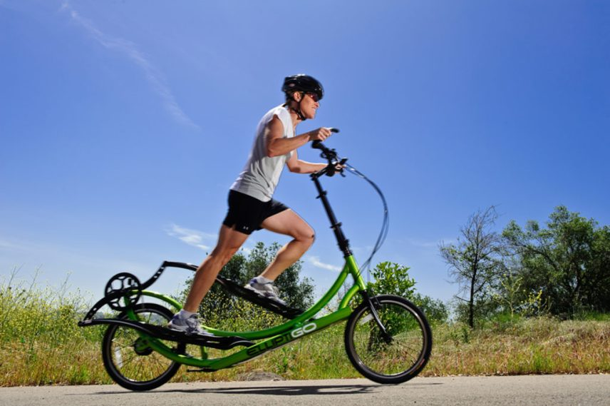 The Outdoor Elliptical Bike