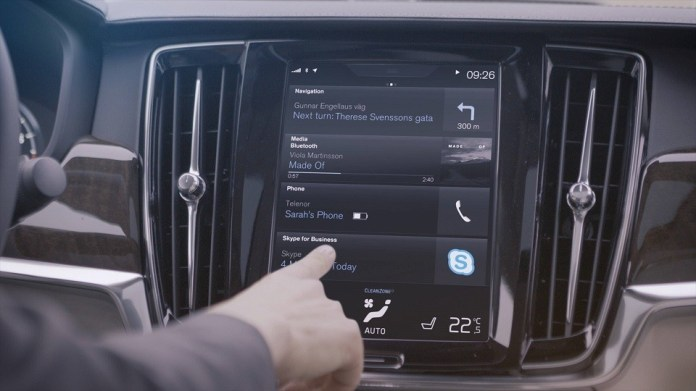 Volvo to introduce Microsoft's Skype for Business in 90 Series vehicles