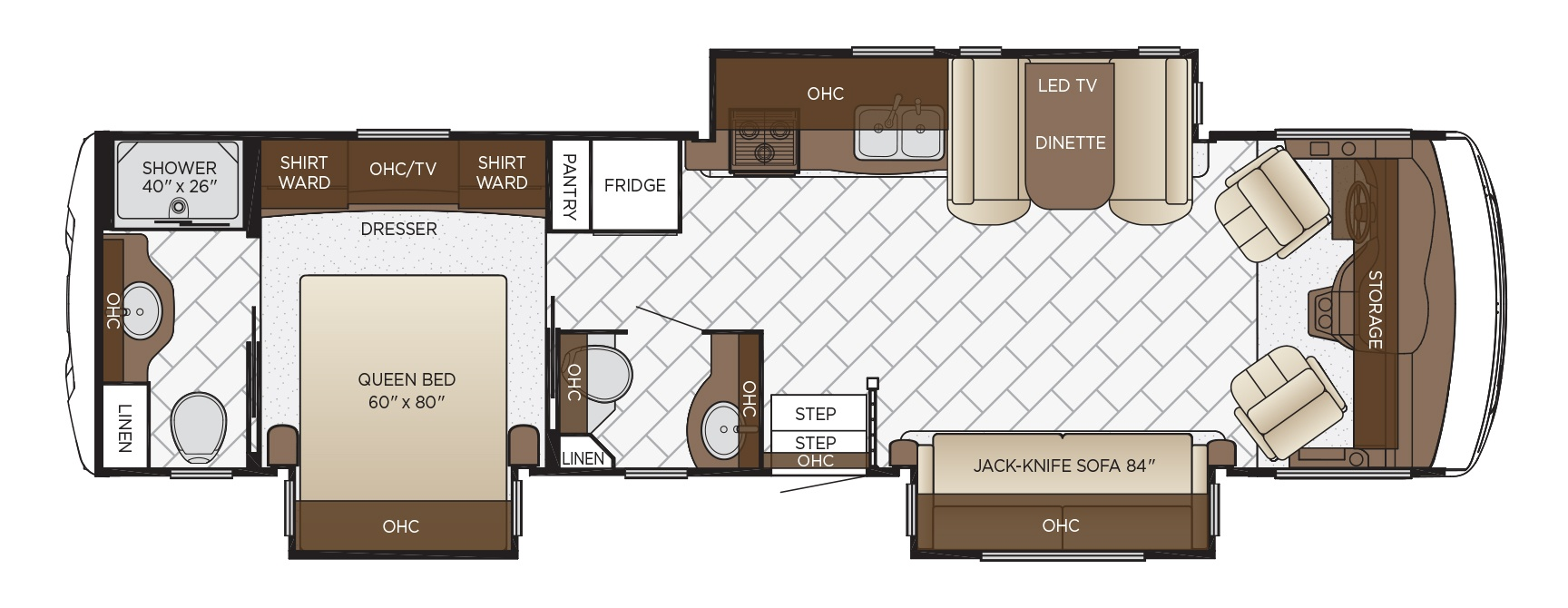 plans to build a sofa bed 3 seat leather bay star floor plan options | newmar