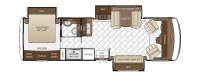 Bay Star floor plan options | Newmar