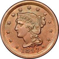 1839-1857 Braided Hair Cents | NGC