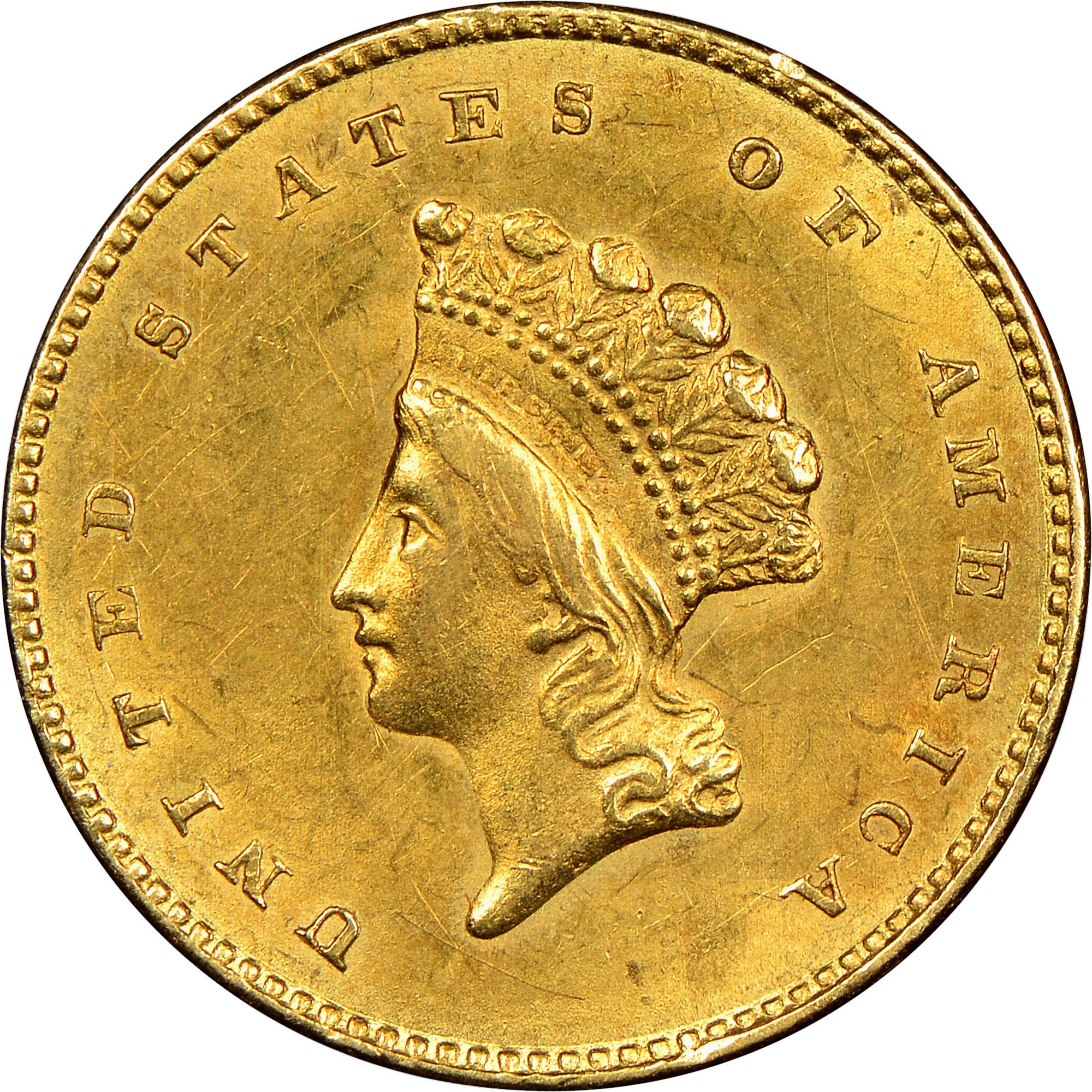 G 1 Ms Gold Dollars