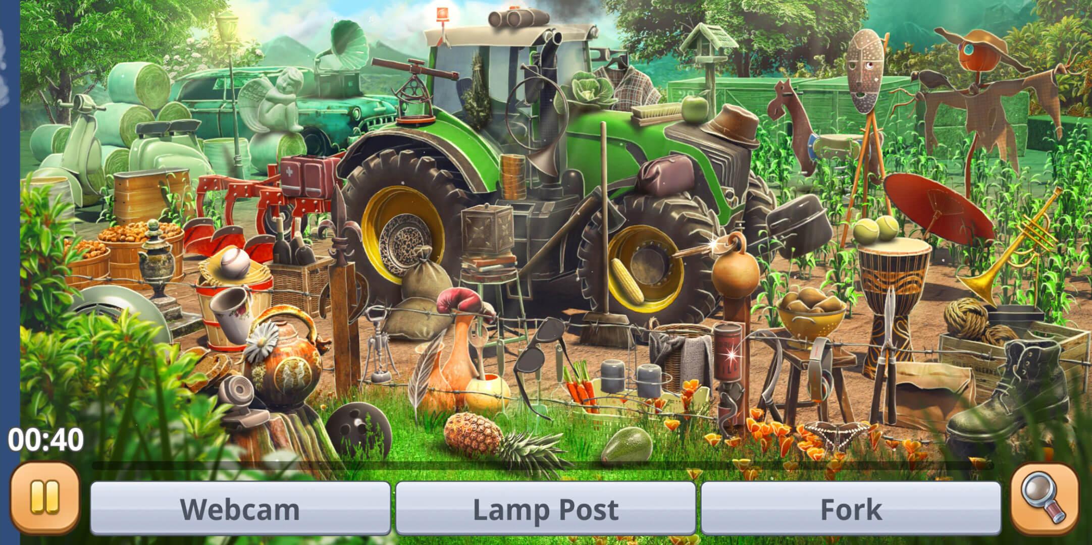 Hidden Object Farm Games