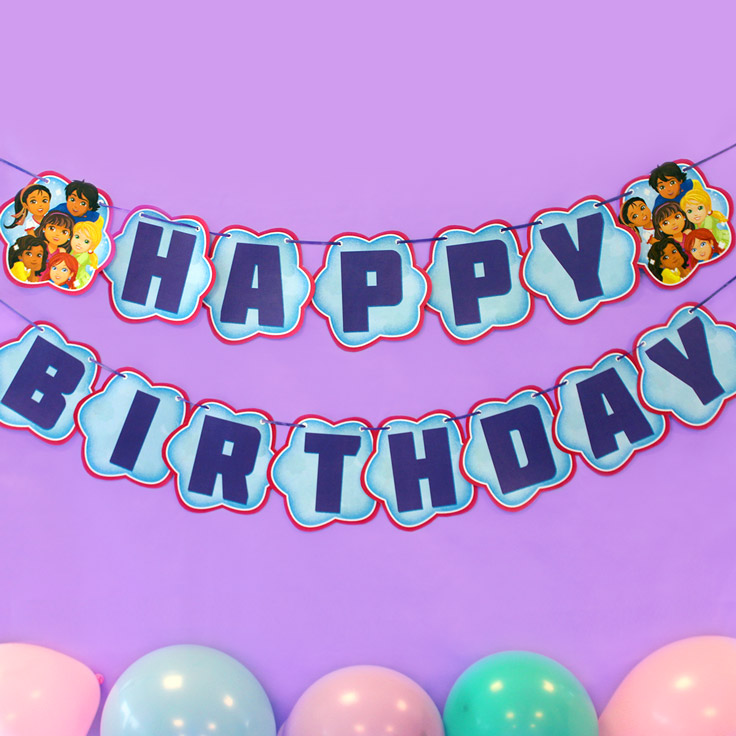 dora and friends birthday