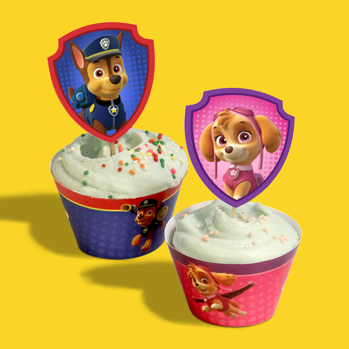 PAW Patrol Birthday Party Cupcake Wrappers Nickelodeon