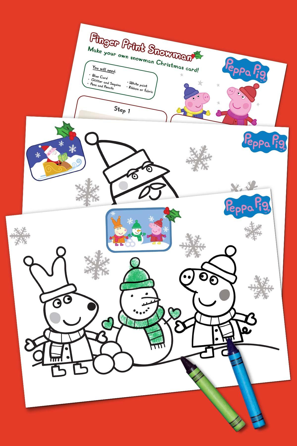 Peppa Pig Holiday Activity Pack