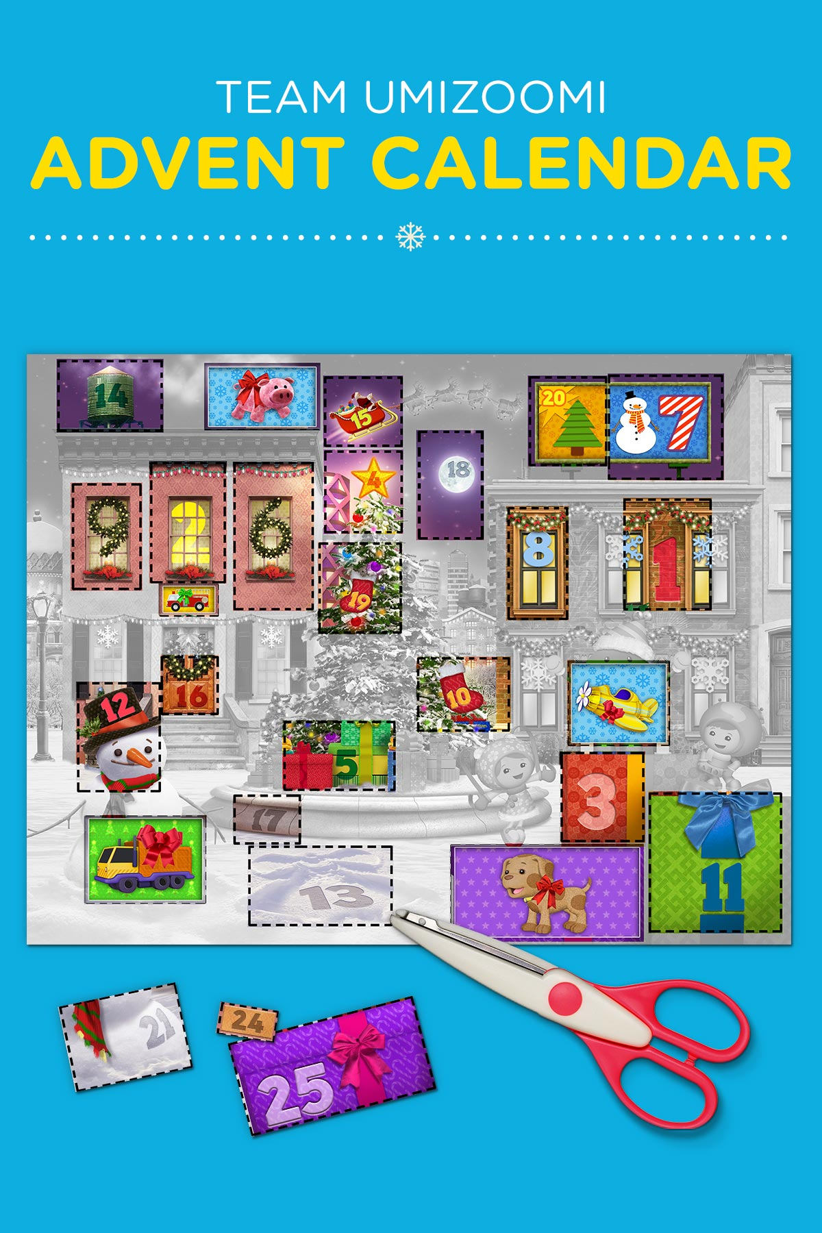 Create Extraordinary Umizoomi Advent Calendars With The Fam