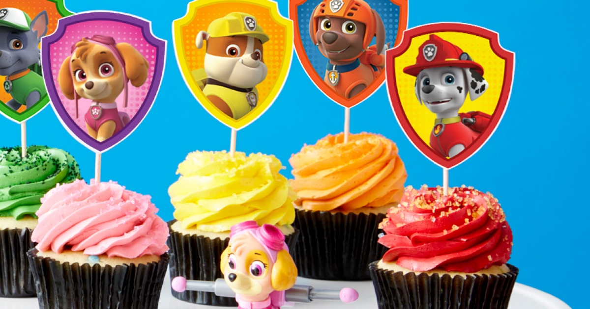 PAW Patrol Cupcake Toppers Nickelodeon Parents