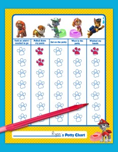 Savesave to pinterest paw patrol printable potty training chart also nickelodeon parents rh nickelodeonparents