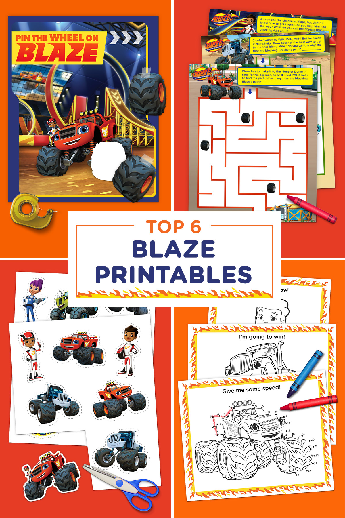 The 6 Best Blaze Printables Of All Time