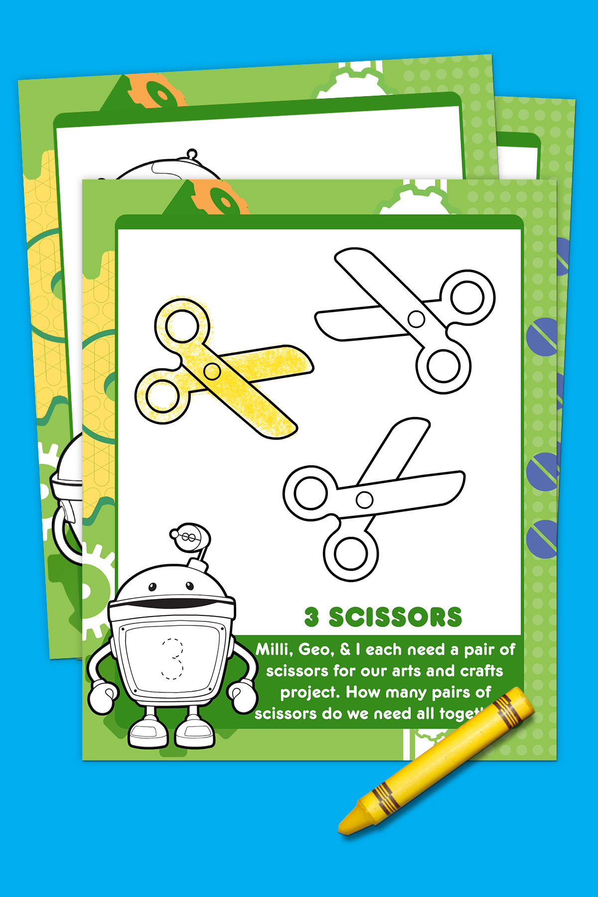 Bot S First Day Of School Activity Pack