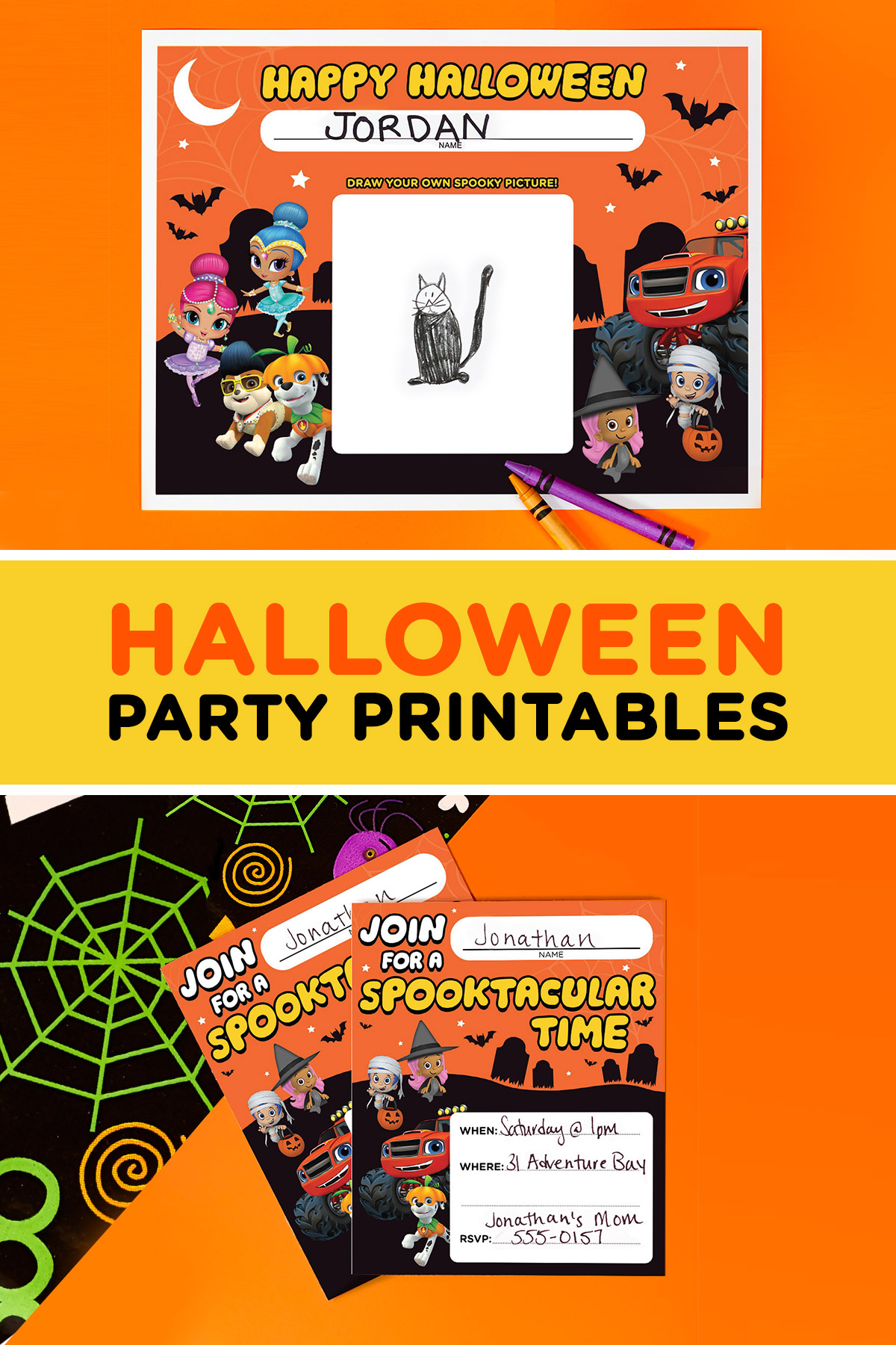 Throw A Nick Jr Halloween Party