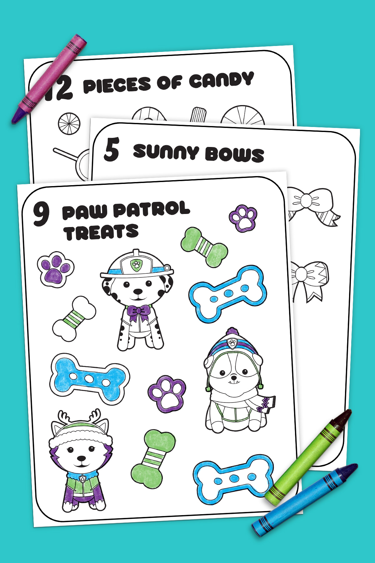 12 Days Of Nick Jr Coloring Book
