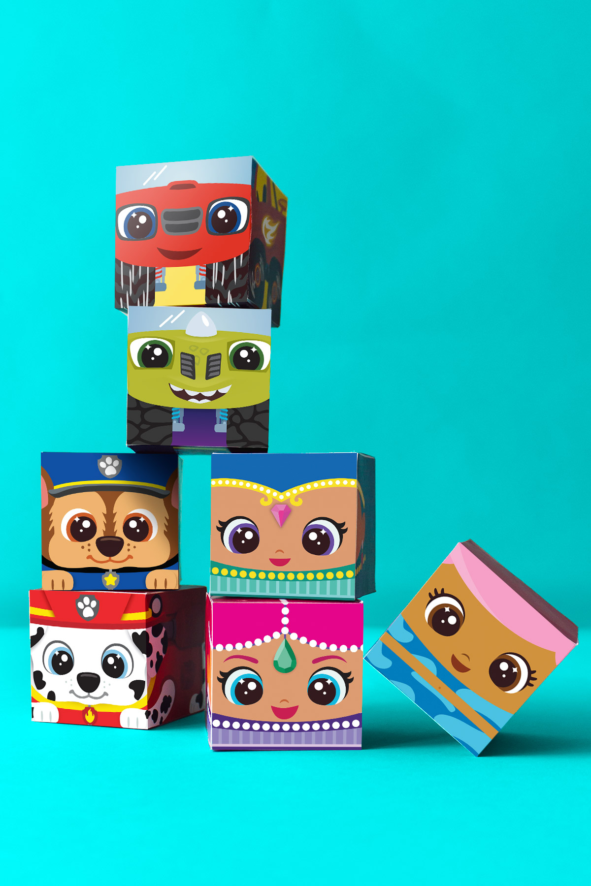 Nick Jr Block Party Printable Craft