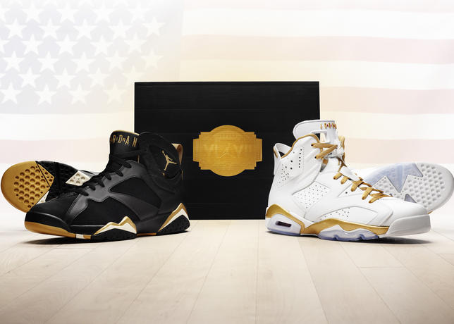 "competitive price 6f203 d9c33 New Images  Air Jordan ""Golden Moments"" Pack"