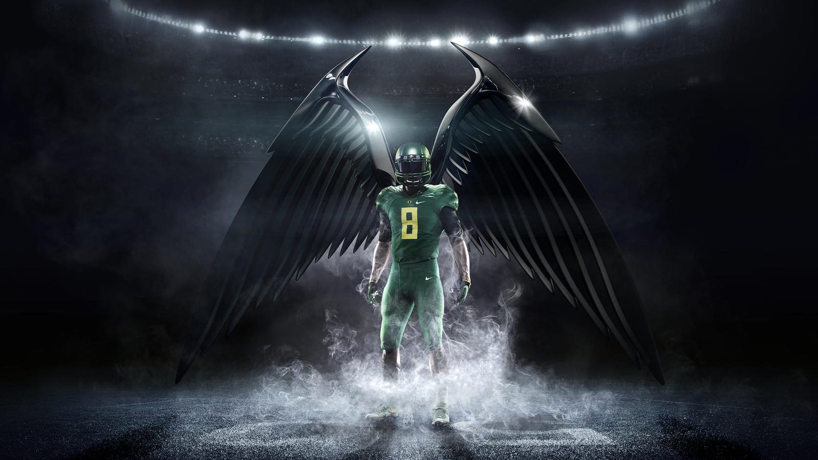 Hd Oregon Ducks Wallpaper Four Nike Sponsored Teams Battle For College Football