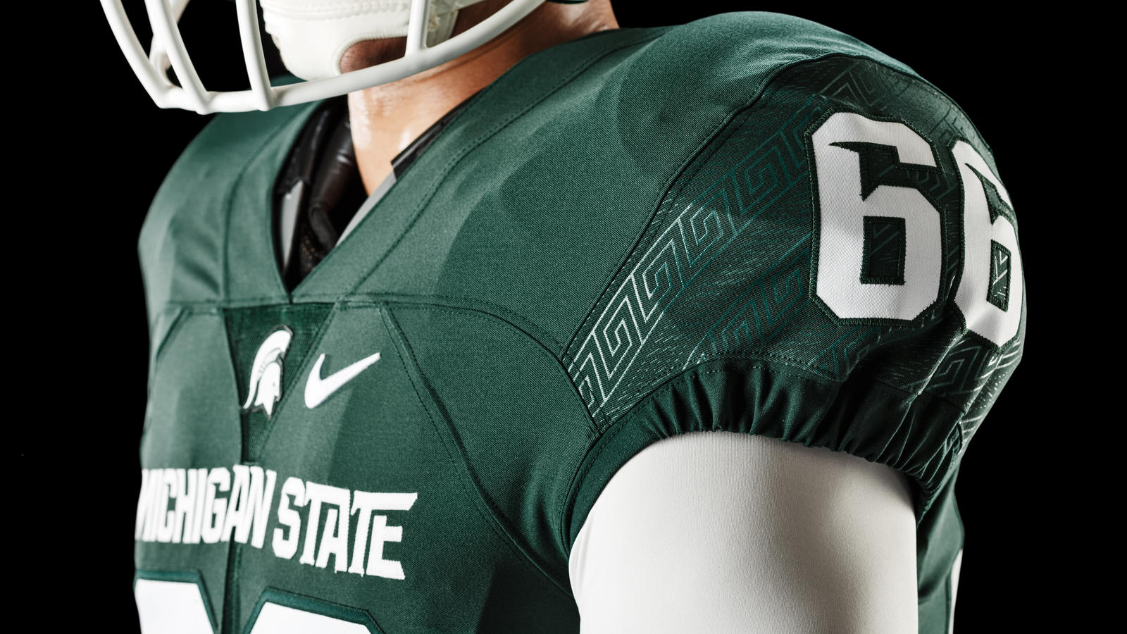 Michigan State Football Updates Nike Uniform Design  Nike