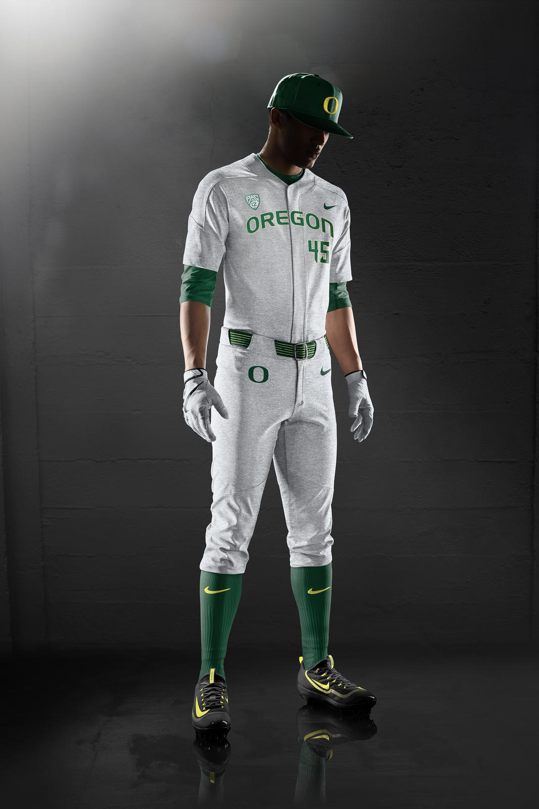 Oregon Ducks Baseball Uniforms