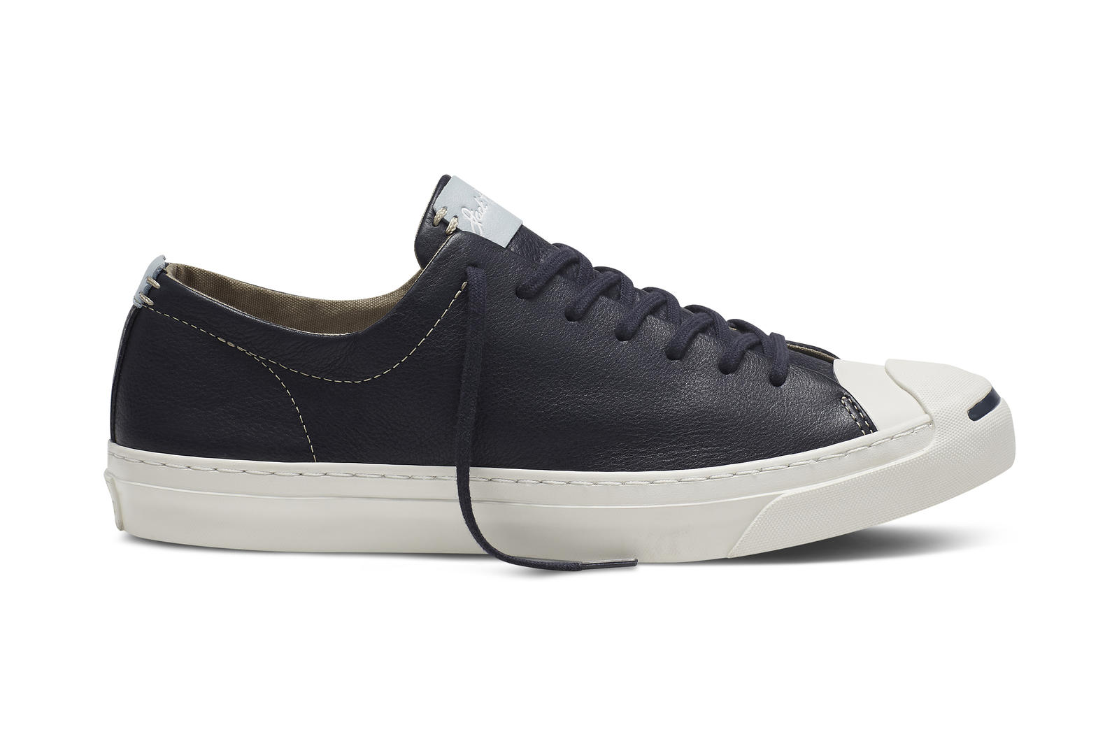 Converse Jack Purcell Remastered In Tumbled Leather - Nike
