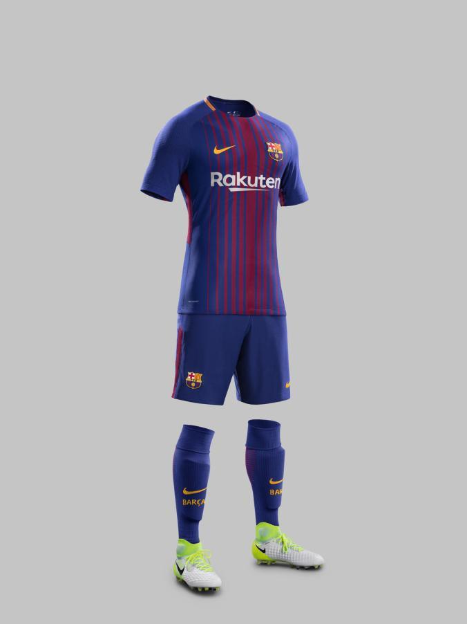 0ed13bd06a9 FC BARCELONA HOME KIT 2017-18