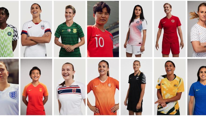 Nike womens football portraits collage hd 1600
