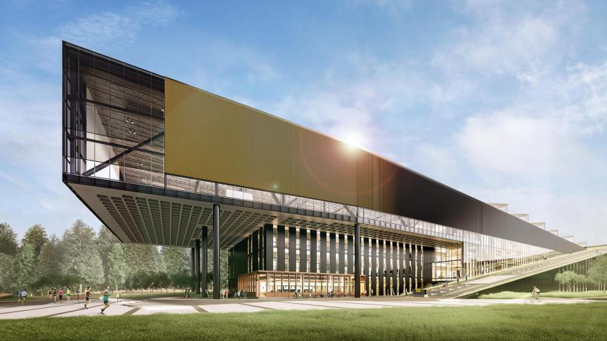 Nike innovation building 1  hd 1600