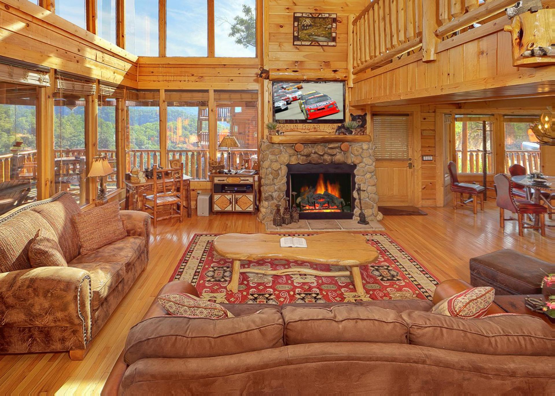 Rooms View Televisions And Family And Fireplaces