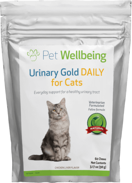 Urinary Gold DAILY for Cats by Pet Wellbeing