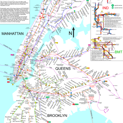 New York City Subway Diagram Vdo Tachometer Wiring Diagrams Nycsubway Org Route Map By Spui