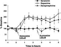 Atomoxetine Increases Extracellular Levels of
