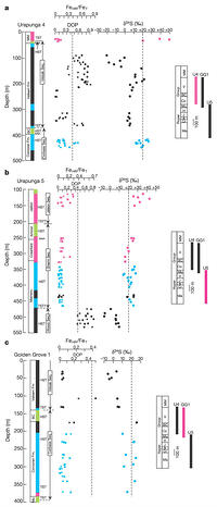 Evidence for low sulphate and anoxia in a mid-Proterozoic