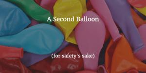 second-ballon-for-safety