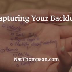 Capturing your backlog