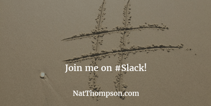 join my slack team