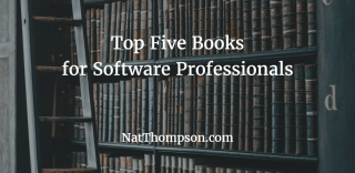 top-five-books-for-software-professionals