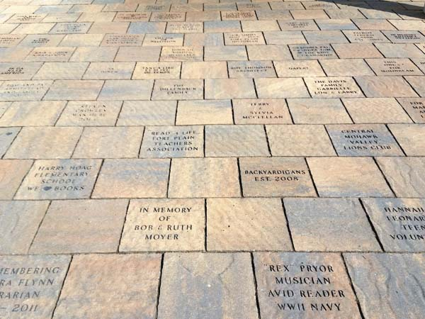 paver fundraiser to benefit