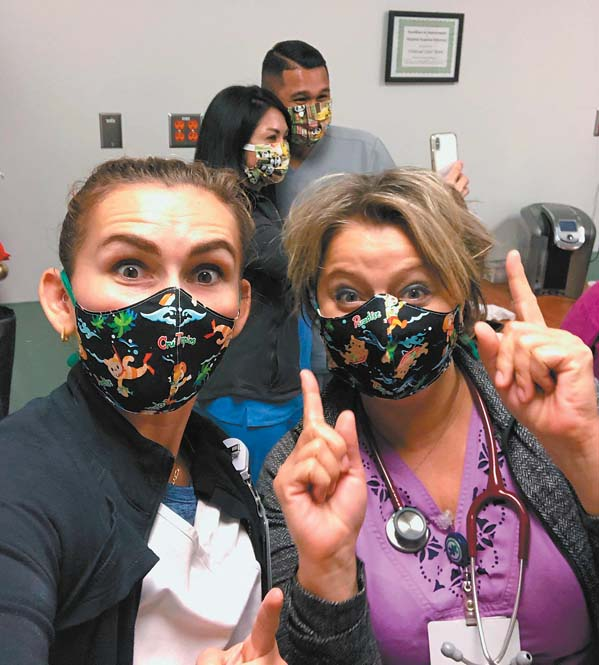 Workers can now wear masks for their non-COVID-19 patients | News ...